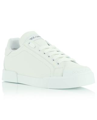 Monochrome leather sneakers DOLCE & GABBANA