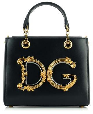 DG Girls monogrammed leather handbag DOLCE & GABBANA