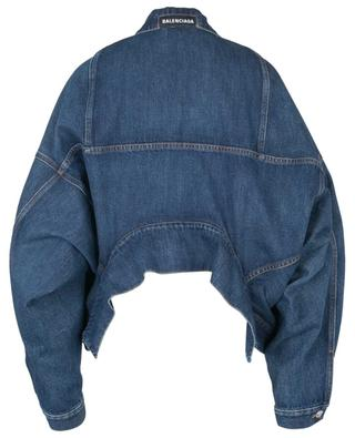 Blouson en denim Upside Down BALENCIAGA