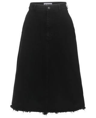 Mid-length A-line cotton skirt BALENCIAGA