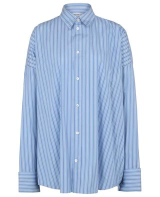 Gestreiftes Oversize-Hemd Tuxedo Cuff Shirt BALENCIAGA