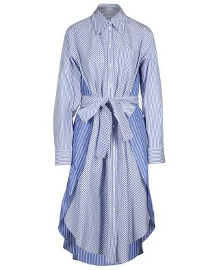 Gestreiftes Kleid aus nachhaltiger Baumwolle STELLA MCCARTNEY
