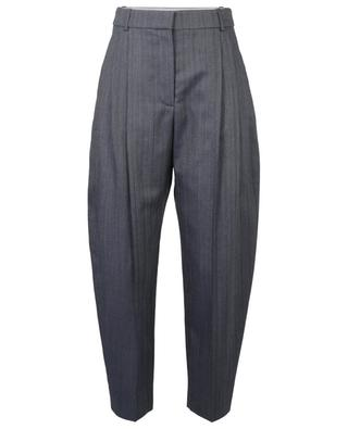 Pantalon cigarette raccourci en laine mélangée STELLA MCCARTNEY