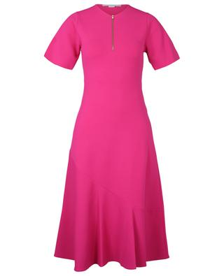 Viscose-blend fitted dress with short sleeves STELLA MCCARTNEY