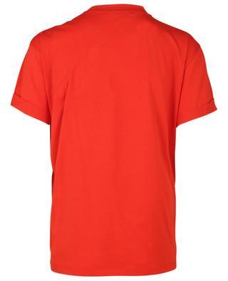 T-Shirt aus Baumwolle mit Herzstickerei STELLA MCCARTNEY