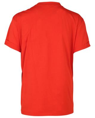 Heart embroidered cotton T-shirt STELLA MCCARTNEY