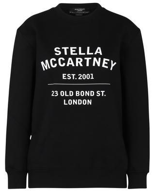 23 OBS loose crewneck sweatshirt with print STELLA MCCARTNEY