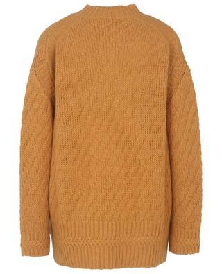 Lässiger Pullover mit Strickmuster Soft Shape STELLA MCCARTNEY
