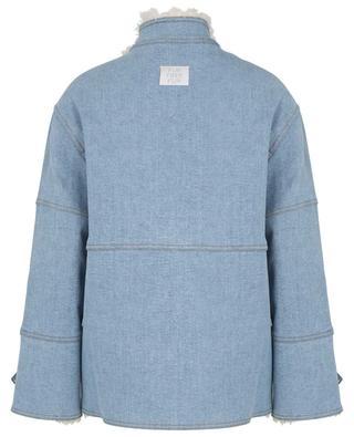 Veste en jean avec fourrure synthétique STELLA MCCARTNEY