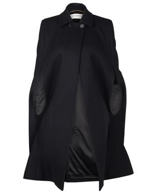 Cape en laine SAINT LAURENT PARIS