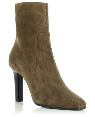 Stiefeletten aus Wildleder mit Absatz Jane 90 SAINT LAURENT PARIS