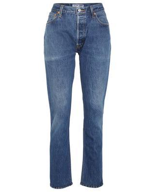 Gerade Jeans aus Baumwolle mit hohem Bund RE/DONE