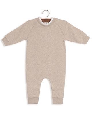Adam baby sweat jumpsuit with lace BONTON