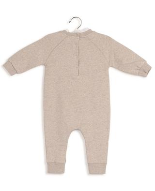 Adam baby sweat jumpsuit with lace BONTON