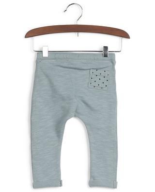 Pantalon en coton avec empiècement étoiles BONTON