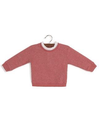 Baby-Sweatshirt mit Spitze Tilia BONTON