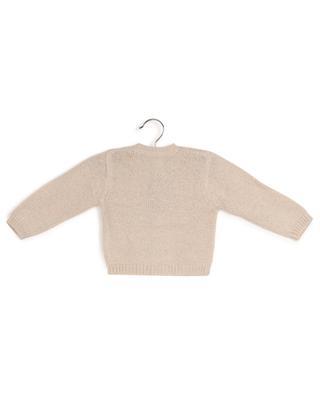 Geknöpfter Baby-Cardigan aus Wolle und Lurex BONTON