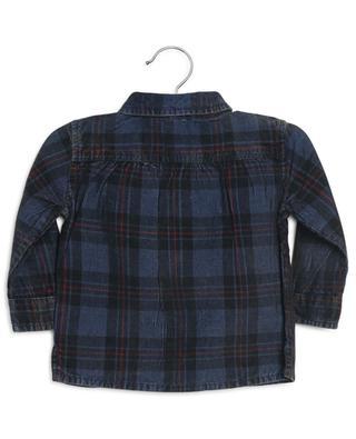 Chemise bébé en velours côtelé à carreaux Journal BONTON