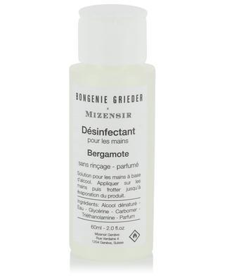 Désinfectant pour les mains parfumé Bergamote - 60 ml MIZENSIR
