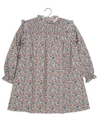 Robe trapèze en popeline fleurie Babouch BONTON