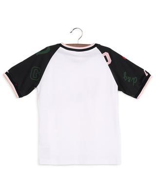 T-shirt en coton avec broderie D&G DOLCE & GABBANA