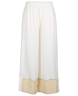 Crêpe de Chine wide-leg trousers CHLOE