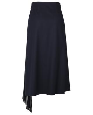 Pleated panel virgin wool skirt CHLOE