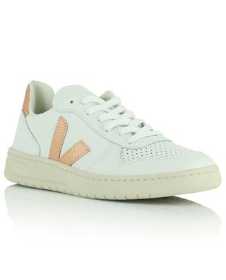 V-10 leather low top sneakers VEJA