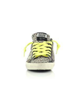 Baskets basses en daim imprimé léopard étoile daim clair Superstar GOLDEN GOOSE