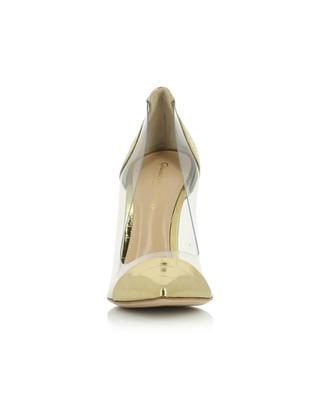 Plexi 105 golden croc effect patent leather pumps GIANVITO ROSSI