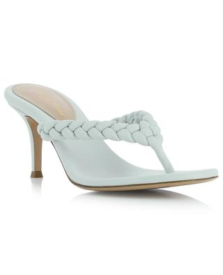 Tropea 70 flip flop spirit heeled nappa leather sandals GIANVITO ROSSI
