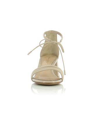 Sandales à talon carré en cuir verni Sydney 60 GIANVITO ROSSI