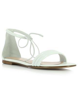 Sydney 05 flat patent leather sandals GIANVITO ROSSI