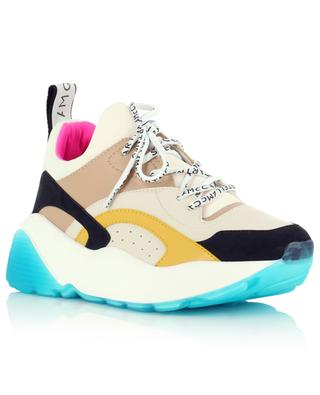 Eclypse multicolour synthetic material wedge sneakers STELLA MCCARTNEY