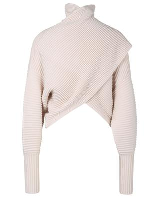 Wool cropped turtleneck jumper VICTORIA VICTORIA BECKHAM