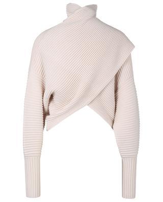 Wool cropped turtleneck jumper VICTORIA VICTORIA BECKHAM