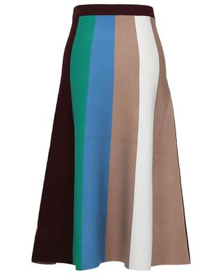 Block stripes long skirt VICTORIA VICTORIA BECKHAM