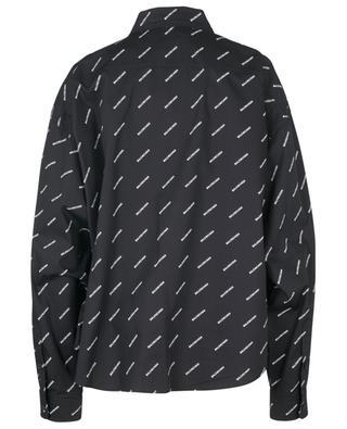 Swing Masculine logo print shirt BALENCIAGA