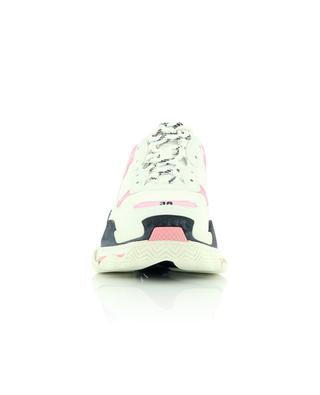 Niedrige Materialmix-Schnürsneakers Triple S Leather Free BALENCIAGA
