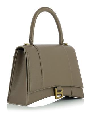 Hourglass Top Handle grained leather handbag BALENCIAGA