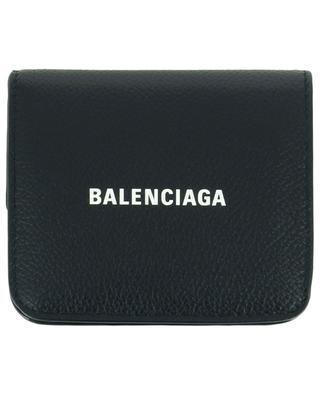 Petit portefeuille en cuir grainé Cash Folded Mini Wallet BALENCIAGA