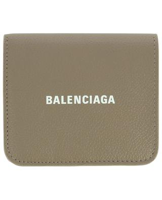 Brieftasche aus genarbtem Leder Cash Mini BALENCIAGA