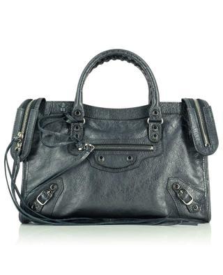 Handtasche aus Metallic-Arenaleder Classic City S BALENCIAGA