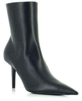 Pointy leather ankle boots BALENCIAGA