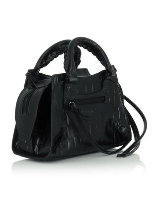 Mini sac en cuir de veau effet croco Neo Classic City Mini BALENCIAGA