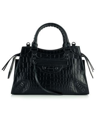 Neo Classic City S croc-effect leather handbag BALENCIAGA