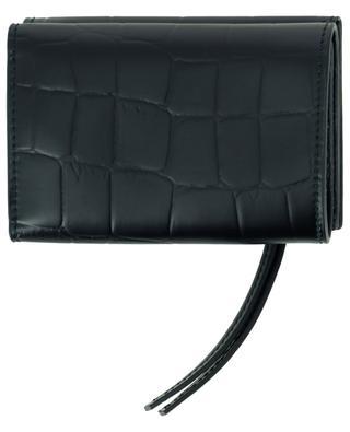 Mini-Brieftasche aus Leder in Kroko-Optik Neo Classic City BALENCIAGA