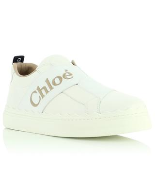 Niedrige Slip-on-Sneakers mit Logodetail Lauren CHLOE