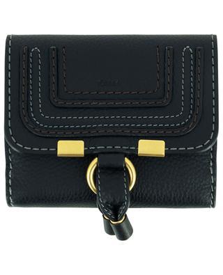 Kleine Brieftasche aus genarbtem Leder Marcie CHLOE