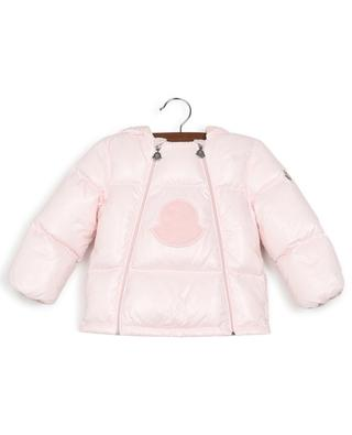 Plug short down jacket with logo MONCLER